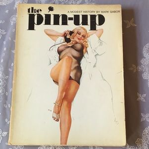 The pin-up book. (Vintage)